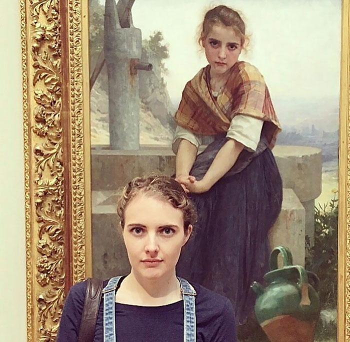Ищи меня в Лувре